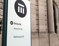 Hauptsitz Swiss Re in Z�rich (Foto: Swiss Re)